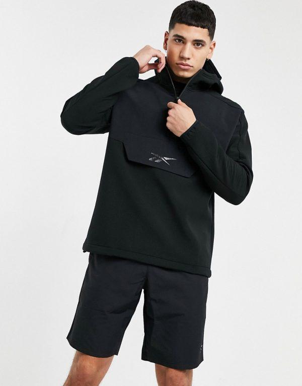 Reebok Training hoodie in black