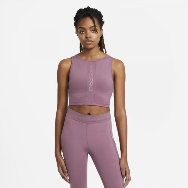 Nike Pro Women's Shelf-Bra Tank - Purple