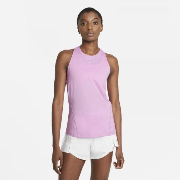 Nike Pro Women's Mesh Tank - Pink