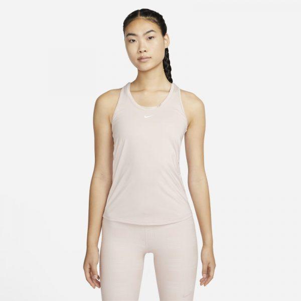 Nike Dri-FIT One Women's Slim Fit Tank - Pink