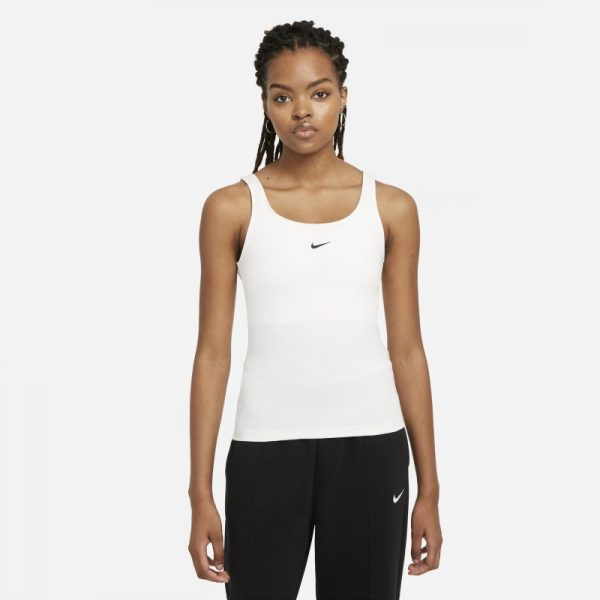Nike Sportswear Essential Women's Cami Tank - White