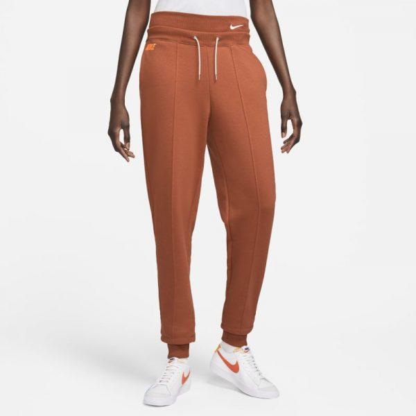 Nike Sportswear Icon Clash Women's Easy Fleece Joggers - Orange